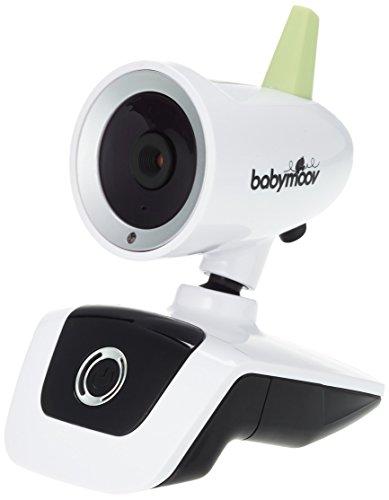 Babymoov Visio Care III Babyphone Camera Video avec Vision Nocturne et Talkie Walkie, Ecran 2,4'