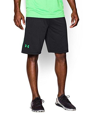 Under Armour UA Raid 1034 - Pantalones cortos para hombre, color negro