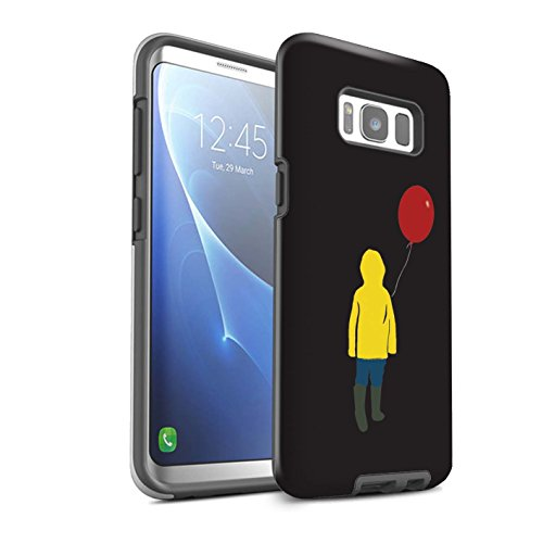 Stuff4® Phone Case/Cover/Skin / SG8-3DTBM / Horror Film Inspired Collection Samsung Galaxy S8 Plus/G955 Georgie/ballon