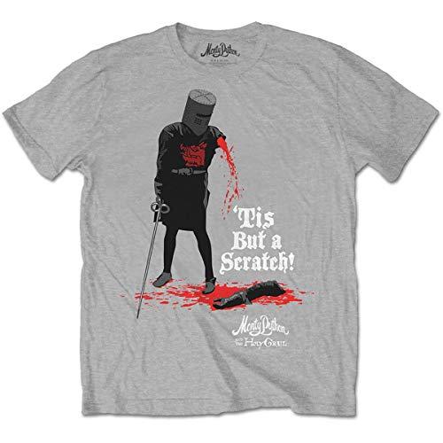T-Shirt (Unisex L)Tis But a Scratch Grigio