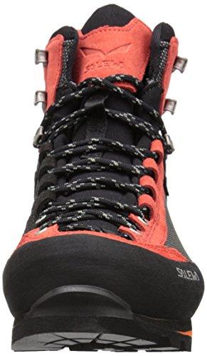 [サレワ]Salewa Crow GTX Mountaineering Boots – メンズ マウンテニアリングブーツ BLACK/PAPAVERO 11 [並行輸入品]