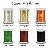 Best Fly Tying Materials - Riverruns 6 Color/Set Non-tarnishing Ultra Copper Wire 0.1mm Review