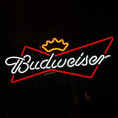 DECO 30 x 12 zoll Budweiser LED Leuchtreklame für Bar Bier Werbeschild (30