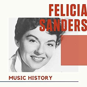 Felicia Sanders - Music History