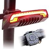 BOHSRL Bike Tail Light, USB Rechargeable, LED...