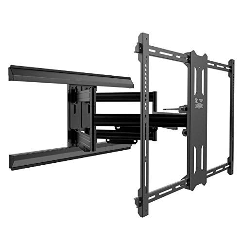 Kanto PMX700 Pro Series Full Motion Articulating TV Wall Mount for 42-inch to 100-inch TVs | Adjustable Positioning | Integrated Cable Management | Toolless Tilt