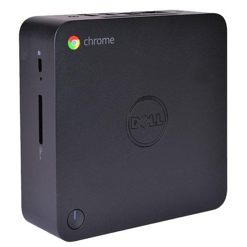 Dell Chromebox 3010 Intel Celeron 2955U X2 1.4GHz 2GB 16GB SSD Chrome OS,Black (Refurbished)
