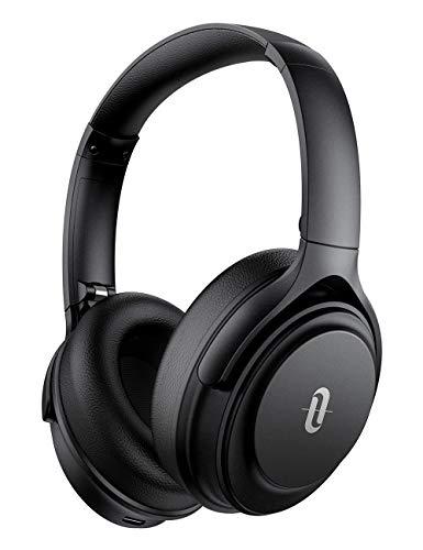 TaoTronics Casque Bluetooth sans Fil ANC 40 Heures d'Autonomie Casque Bluetooth 5.0 à Réduction de Bruit Active Hi-FI Audio Sound CVC 8.0 Mic pour Smartphones Tablettes Ordinateurs Portables