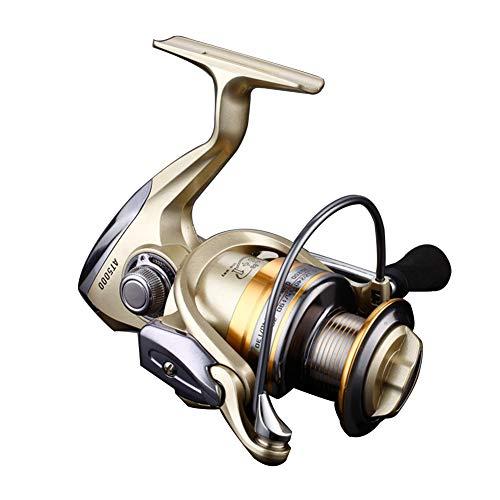 KANGHAN Spinning Fishing Reel 13 + 1BB Carp Fishing Carretes Carrete Intercambiable Spining Carrete,4000