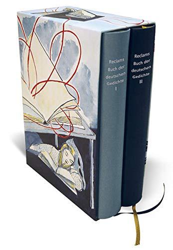 Reclams Buch der deutschen Gedichte: Vom Mittelalter bis ins 21. Jahrhundert