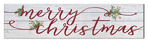 Kindred Hearts 40'x10' Merry Christmas Shiplap Wall Sign