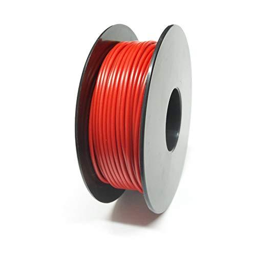 Xenterio LiYv Schaltlitze, 0,50mm², Kupfer verzinnt, 25m Spule, rot