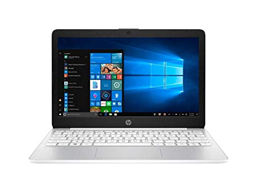 HP Stream 11.6in Laptop Intel Atom x5 E8000 4GB RAM 64GB eMMC Webcam Windows 10 (Renewed)