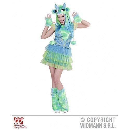 Kostüm sexy Monstergirl in Limettengrün Gr. S = 36 - 38