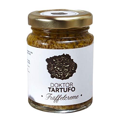 Doktor Tartufo Trüffelcreme mit 5% schwarzen Trüffeln, 90 g, im Glas, für Feinschmecker, mit Olio extra vergine