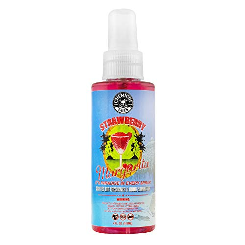 Chemical Guys AIR_223_04 Premium Air Freshener and Odor Eliminator with Strawberry Margarita Scent (4 oz)