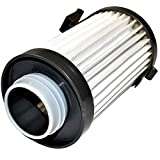 HQRP Washable Filter compatible with Eureka Optima 431BX 431F 437AZ 431DX 433A 431A 431AE 431AX 431AXZ 431B 433B 433BE 433BET 437AXZ Lightweight Vacuums