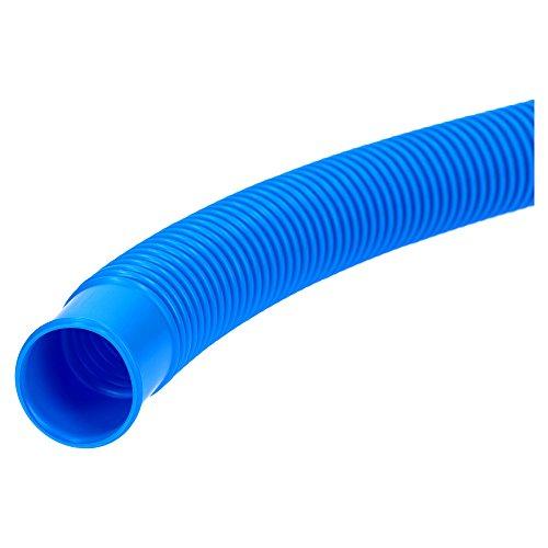Kalitec Poolschlauch 32mm blau 6,6m I Schwimmbadschlauch 32mm I Schlauch Pool I Schlauch für Poolpumpe I flexibler Wasserschlauch I Pumpenschlauch I Saugschlauch I Pool Schlauch