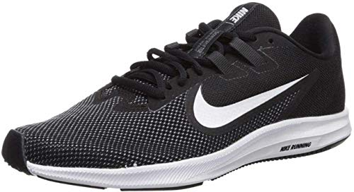 Nike Downshifter 9, Zapatillas Mujer, Negro (Black/White/Anthracite/Cool Grey 001), 36 EU