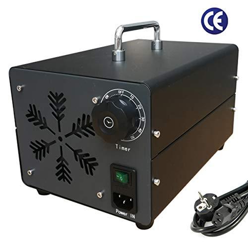 Ozonizzatore 40000MG/h Generatore di ozono Home Generatore di Ozono industriale purificatore d'aria con timer per camere hotel, automobili, animali domestici, fumo e fatto