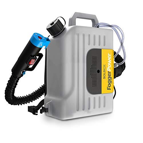 Solbiox Nebulizador Sanitizante ULV de 10 litros y Motor de 1400W   Desinfección en Restaurantes Hoteles Tiendas Escuelas   Nebulizador Portatil  Pulverizador Sanitizante Fogger