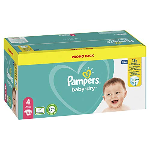 Pampers 81723657 Baby-Dry Pants luiers, wit