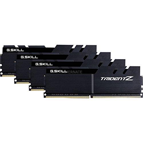G.Skill 64GB DDR4-3600 módulo de - Memoria (64 GB, 4 x 16 GB, DDR4, 3600 MHz, 288-pin DIMM, Negro)