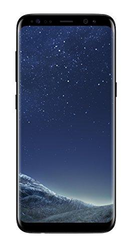 Samsung Galaxy S8 SM-G950F 14,7 cm (5.8') 4 GB 64 GB SIM única 4G Negro 3000 mAh - Smartphone (14,7 cm (5.8'), 4 GB, 64 GB, 12 MP, Android 7.0, Negro)