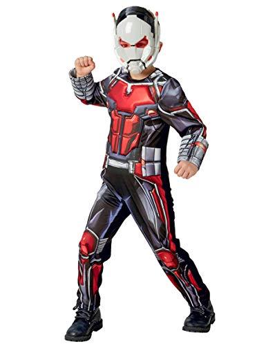 Rubies 640487L Disfraz de Antman Marvel Avengers Ant-Man Deluxe para nios, grande
