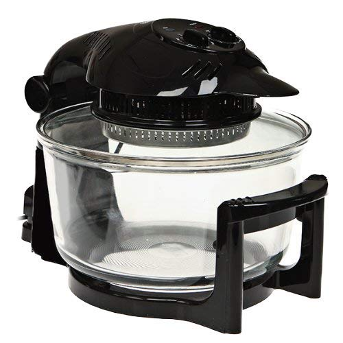 Michael James Electric Halogen Oven with Hinged Lid, 17L Capacity, with...