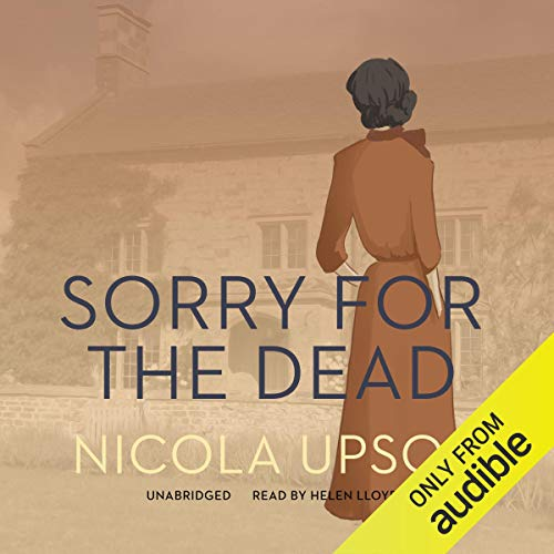 Sorry for the Dead audiobook cover art