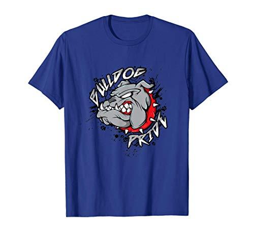 Bulldog Mascot Shirt English Bulldog Pride And Loyalty T-Shirt