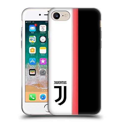 Head Case Designs Offiziell Zugelassen Juventus Football Club Home 2019/20 Race Kit Soft Gel Handyhülle Hülle Huelle kompatibel mit Apple iPhone 7 / iPhone 8 / iPhone SE 2020