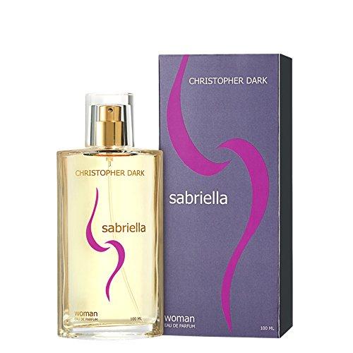 Christopher Dark Sabriella Eau de Parfum Natural Spray für Damen, 100 ml