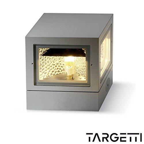 TARGETTI q-bo Applique Plafonnier extérieur Cube 35 W 70 W 1e1669 – (1e1669) 35 W g8,5