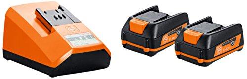 Akku-Starter Set 12 V 2,5 Ah | Fein Select+ 2 in 1 Pack | geeignet für verschiedene Akku-Elektrowerkzeuge | mit passendem Ladegerät
