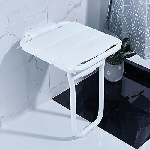 Asiento de ducha abatible, ABS Taburete de asiento de ducha montado en...