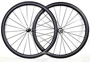 FidgetFidget Wheel Straight-Pull Sapim CX-RAY 38mm Tubular 700C Carbon Matt Powerway R36 hub
