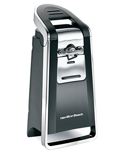 Hamilton Beach Smooth Touch Electric Automatic Can Opener with Easy Push Down Lever, Use With All...