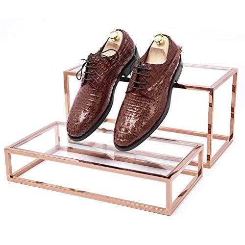 GFPR Schuh Display Ständer, rostfreier Stahl Präsentationsständer für Taschen, Schmuckdisplay...
