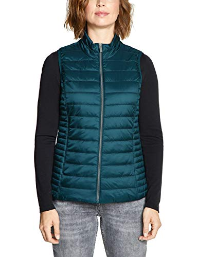 Cecil Damen 220081 Outdoor Weste, deep Atlantic Green, XX-Large (Herstellergröße:XXL)