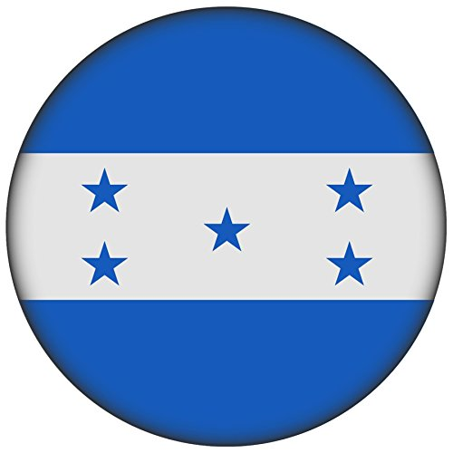 FanShirts4u Button/Badge/Pin - I Love HONDURAS Fahne Flagge (Honduras/Flagge)