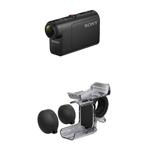 ソニー SONY ウエアラブルカメラ アクションカム ベーシックモデル(HDR-AS50) + フィンガーグリップ AKA-FG...