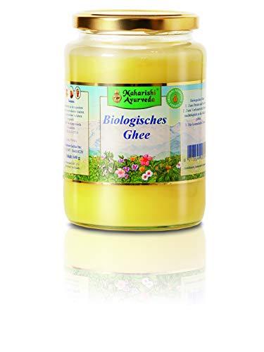 Ayurvedisches Bio Ghee (Butterfett), 250 g, Bio-Qualität, die reine geklärte Butter, ideales Fett zum Braten, Kochen und Frittieren