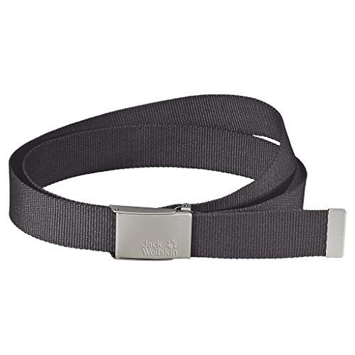 Jack Wolfskin Gürtel WEBBING BELT WIDE, dark steel, ONE SIZE