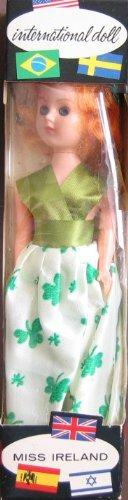 "International Doll Miss IRELAND 8"" Collector Doll - World of Enchantment (Circa 1950's)"