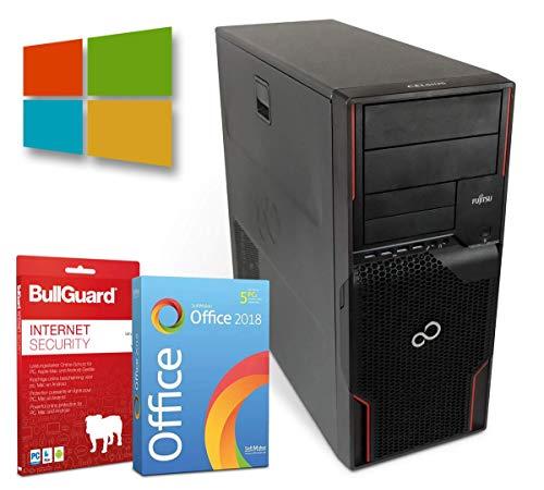Fujitsu Celsius W520 | Intel Xeon E3-1220@ 3,1GHz | 16GB | 512GB SSD | DVD-Brenner | Nvidia Quadro K600 | Windows 10 Pro | BullGuard | SoftMaker Office (Zertifiziert und Generalüberholt)