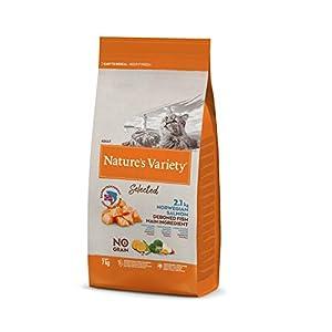 Nature's Variety Selected - Pienso para gatos adultos con salmón noruego sin espinas 7 Kg