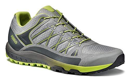 Asolo Women's Grid GV Hiking Shoe Grey Lime 8.5 & Knit Cap Bundle