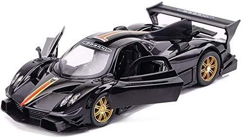 Model Automobili per bambini Scale Model Car Pagani Zonda lega 01:32 modellino auto w / Sound & Pull luce posteriore modello di auto Modellini di auto giocattoli for bambini Collezione 15.5x6x4cm